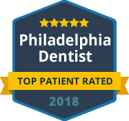 2018 Top Patient Rated - Philadelphia Dentist