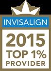 Invisalign 2015 top 1% provider