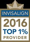 Invisalign 2016 top 1% provider