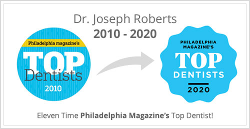 Dr. Joseph Roberts Top Dentists 2010 - 2020